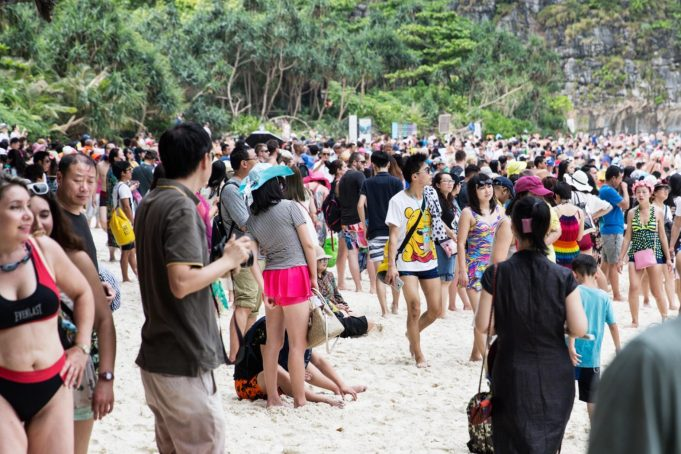 thai tourism arrivals